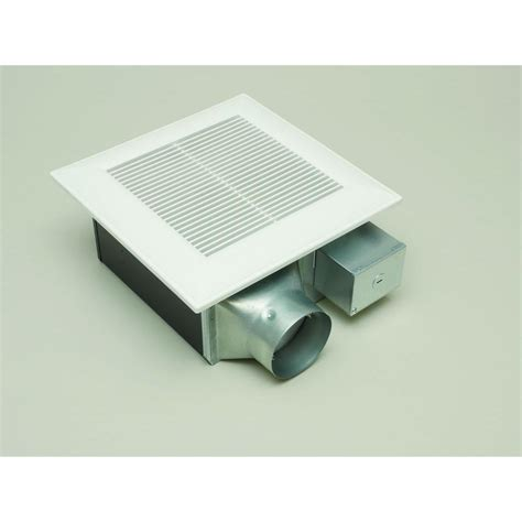 bathroom exhaust fan sidewall panasonic quiet 80 or 110 cfm ceiling low profile dual