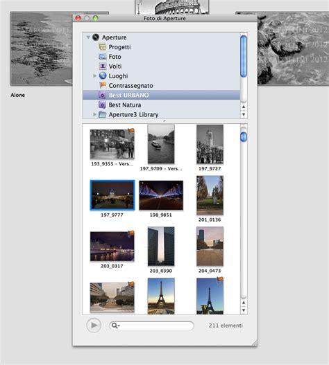 libreria iphoto importare foto da aperture 3 iphoto tutorials pollini