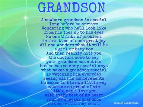 Birthday Quotes For A Grandson Missing My Grandson Quotes Quotesgram