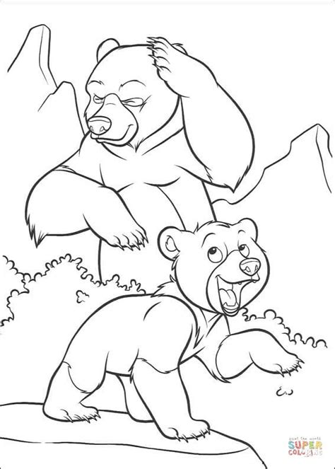 little bear coloring pages free little bear is laughing coloring page free printable