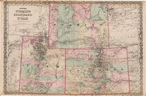 colorado wyoming map colton s wyoming colorado and utah barry