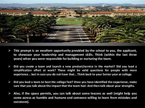 Stanford Questions Mba by Stanford Gsb Essay Questions 2013