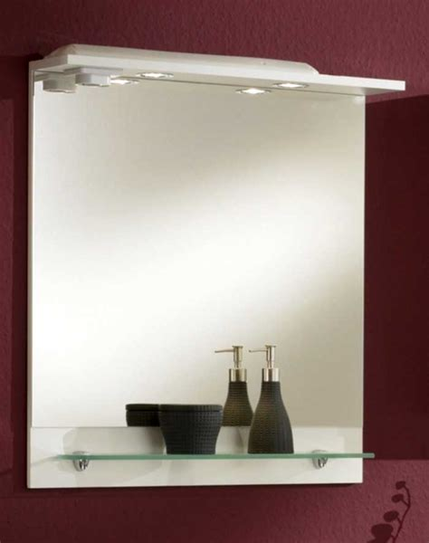 Badezimmerspiegel G 252 Nstig Inklusive Mit Glas Ablage Und
