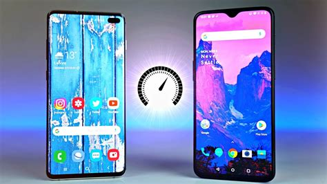 Samsung Galaxy S10 Plus by Samsung Galaxy S10 Plus Vs Oneplus 6t Speed Test