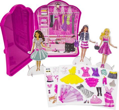 fashion doll trunk tara corp upc 029116761018 dress up closet magnetic paper