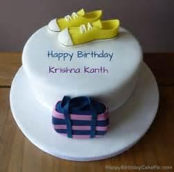 birthday cake for krishna kanth