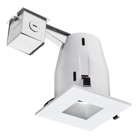 lithonia lighting lk4sqmw square baffle remodel recessed