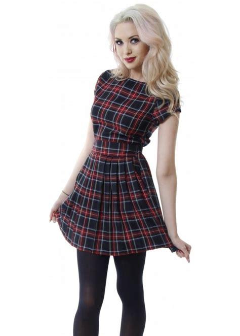 Tartan Mini Dress tartan pleated mini dress tartan mini dress tartan dress