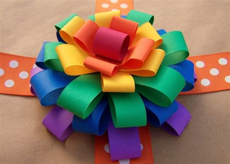 Make Paper Ribbon - 195 best gift wrap ideas bows images on gift