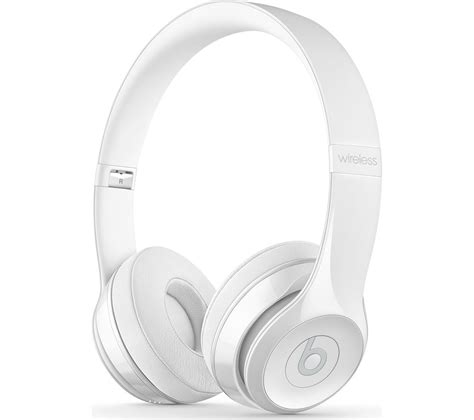 Headset Bluetooth Beats Kw buy beats by dr dre 3 wireless bluetooth headphones white free delivery currys