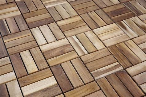Wood Patio Flooring by Tiles Teak Outdoor Floor Tiles By Il Giardino Di Legno