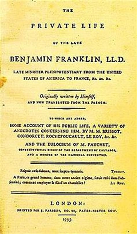 biography of benjamin franklin pdf in hindi the autobiography of benjamin franklin wikipedia