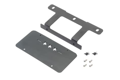 Jeep Front License Plate Bracket Maximus 3 Front License Plate Mounting Brackets For 13 17