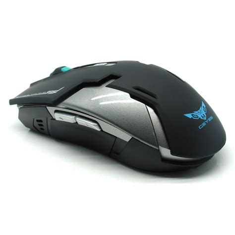 Mouse Wireless Semarang geyes gaming mouse wireless 1600 dpi black