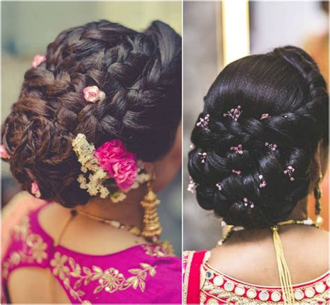 hairstyles for buns indian bridal hairstyles for the modern indian bride