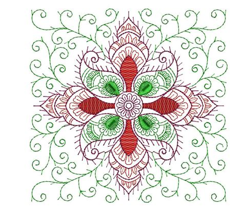 designs free free snowflake embroidery design