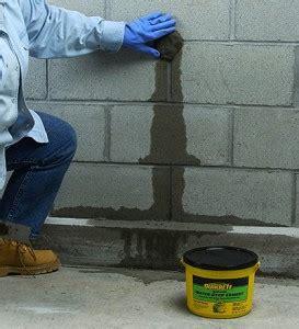 package pavement repairing leaking walls