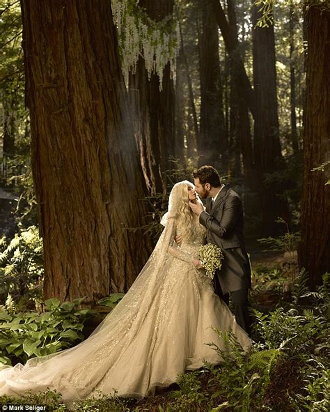 Parkers Wedding Photo wedding revealed the pictures of