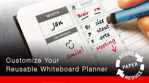 project whiteboard books anew folio customizable whiteboard planner notebook by