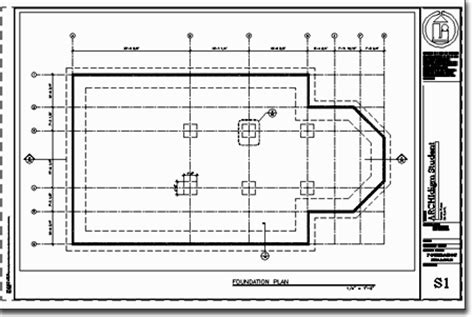 foundation plan drawing adt development guide exercise 1 foundation plan