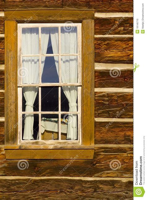 Log Cabin Windows by Log Cabin Window Stock Photo Image 18146710