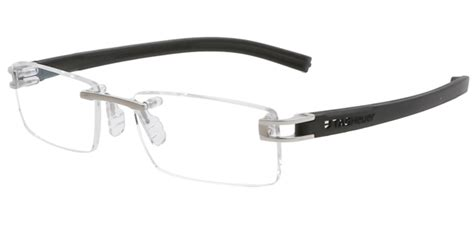 Tag Heur Rimless tag heuer reflex fold rimless th7641 011 eyeglasses in silver matte black smartbuyglasses usa