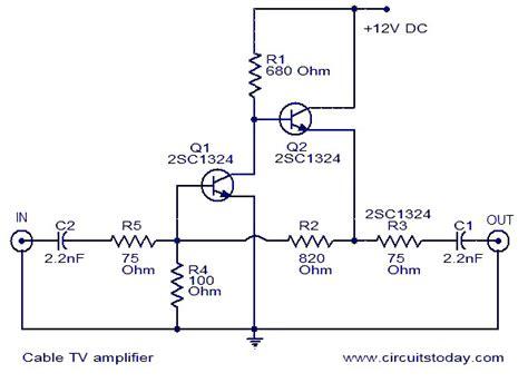 gt circuits gt cable tv lifier l37020 next gr