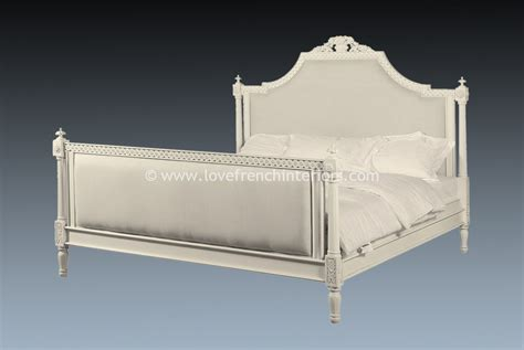 antique white bed isabelle upholstered bed in antique white