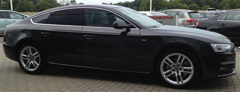 Audi A5 Preisliste 2012 by Audi A5 Sportback S Line Quattro S Tronic Modelljahr 2015