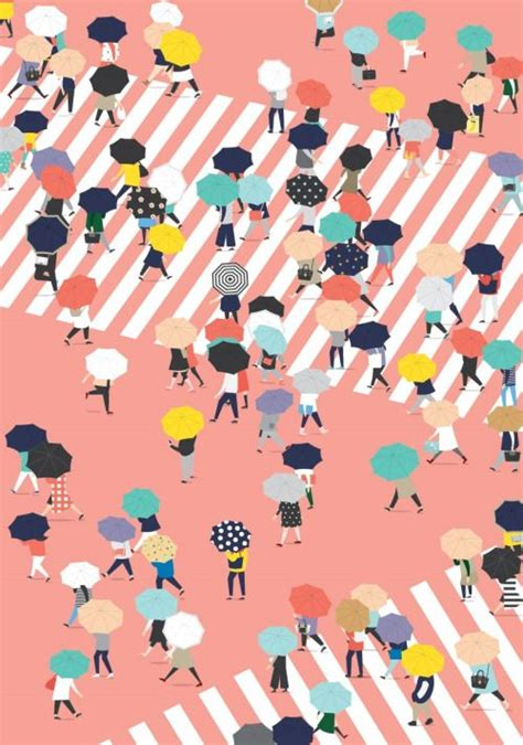 design graphic indonesia flat illustration rainy days and book layouts on pinterest