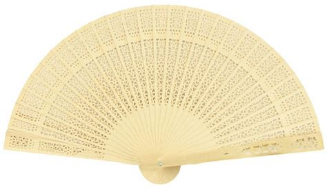 foldable fans with pouch 8 quot natural beige ivory tan sandalwood folding hand fan w