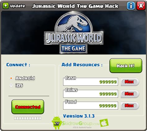 jurassic world the game mod offline this is jurassic world the game hack online offline