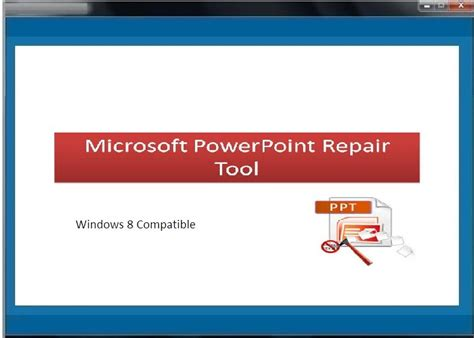 repair powerpoint file microsoft powerpoint repair tool free download and review
