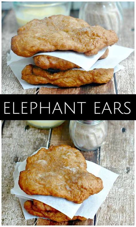 remember going to the fair only for elephant ears or