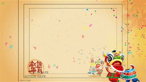 cny template 電視廣告 kung hei choy greetings package