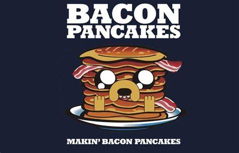 Kaos Adventure Time Bacon Pancakes adventure time bacon pancakes t shirt jpg 620 215 400