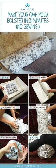 sewing pattern yoga bolster yoga bolster tutorial sew i knit pinterest