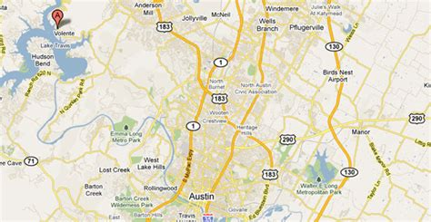 map of lake travis texas location map and directions to vip marina near tx