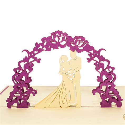 Wedding Card Wholesale by Wedding Day 3d Card Wholesale Wedding Invitation Charm Pop