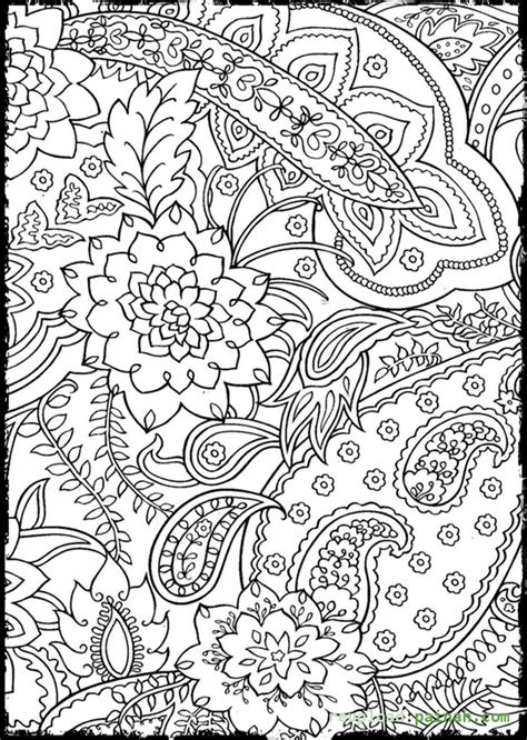 Coloring Pages Trippy Coloring Home