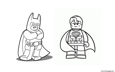 Batman V Superman Coloring Pages by Batman Vs Superman Lego 2016 Coloring Pages Printable