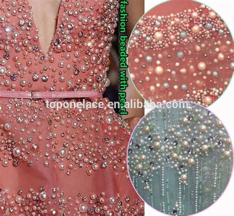 beaded fabric wholesale 2016 wholesale fashion lace material beaded