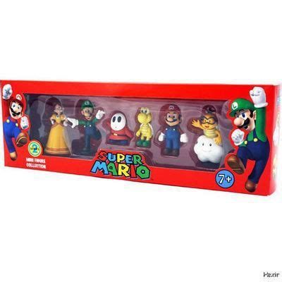 Mario Figure Set Mini Figure Collection Mario Bros Doll Series 2 6pcs