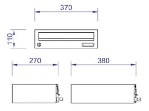 Apartment Mailbox Dimensions Communications Find The Best Solution For Your Project
