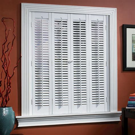 Faux Wood Shutters Interior by Homebasics 174 Traditional Faux Wood Interior Shutter 39 Quot 41