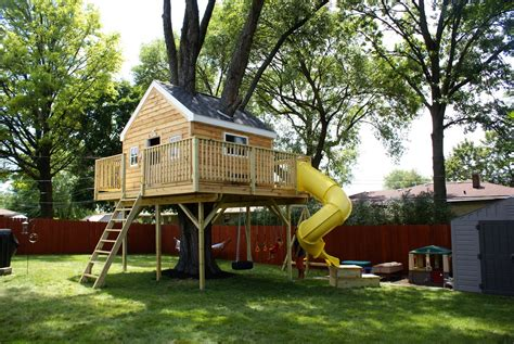 More Kid Friendly Stuff Tree House Story Treehouse Floor Plans 2 Story