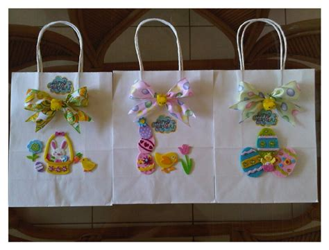Easter Paper Bag Crafts - easter paper bag crafts