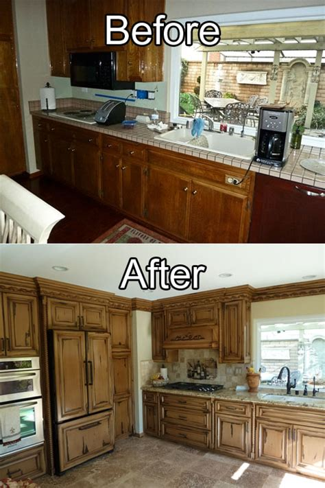 kitchen cabinet restoration
