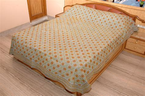 bed cover bed covers rajasthan handicrafts