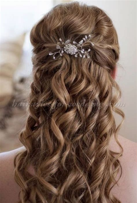 Wedding Hairdos Half Up Half Pictures by 368 Best Wedding Hairstyles For Hair Images On